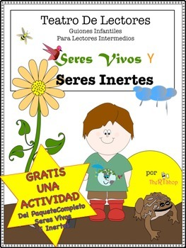 Spanish Living And Nonliving Things, FREE ONE ACTIVITY fro