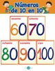 Spanish Los Numeros de 10 en 10 Song - Flashcards