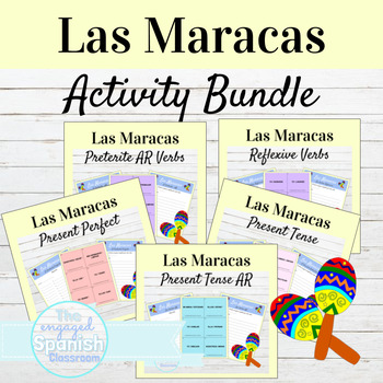 Spanish Maracas BUNDLE: 15 Maracas Game Sets
