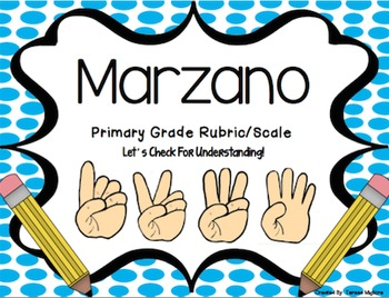 Spanish Marzano Scales