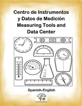 Spanish Math Measuring Tools / Instrumentos de Medicion in