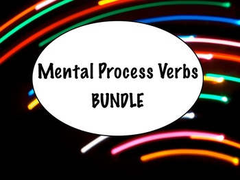 Spanish Mental Process Verbs (Verbs of Cognition) BUNDLE-