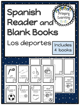 Spanish Mini Book - Sports/Deportes