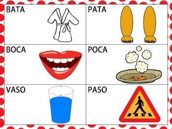 Spanish Minimal Pairs: /p/ and /b/ in the Initial Position
