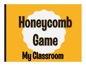 Spanish My Classroom Honeycomb Game