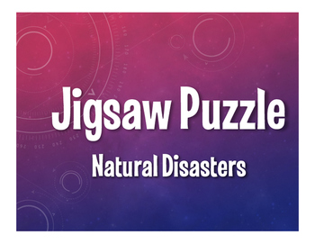 Spanish Natural Disasters Jigsaw Puzzle