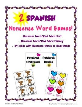 Spanish Nonsense Word Games