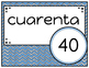 Spanish Number Posters (10 - 100)