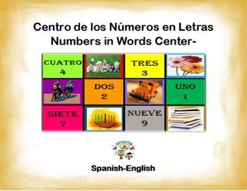 Spanish Math Numbers in Words / Numeros en Letras in a Sta