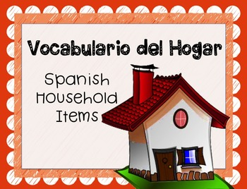 Spanish Objects in House PowerPoint - Common Household Ite
