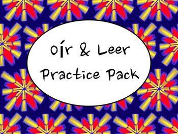 Spanish Oír & Leer (Present and Preterite) Practice Worksh