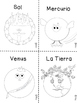 Spanish Our Solar System, FREE ONE ACTIVITY from Full Pack