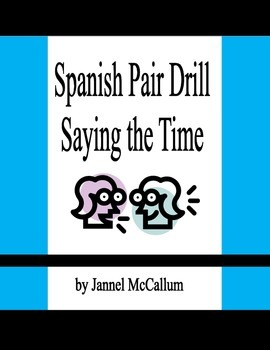 Spanish Pair Drill Time
