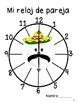 Partner Clocks for Pair Work SPANISH