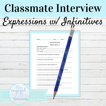 Spanish Partner Interview: Infinitive expressions with ten