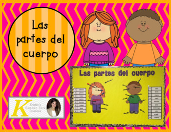 Spanish Parts of the Body Unit 2nd 6th Board Game Books Bi