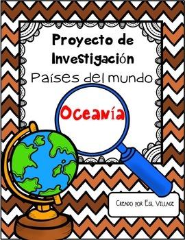 In Spanish | Países del mundo | Oceanía  {Proyecto de Inve