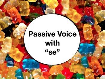 Spanish Passive Voice with Se Keynote Slideshow Presentati