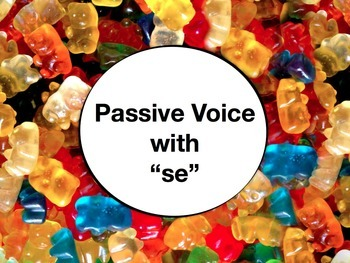 Spanish Passive Voice with Se PowerPoint Slideshow Presentation