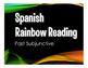 Spanish Past Subjunctive Stations