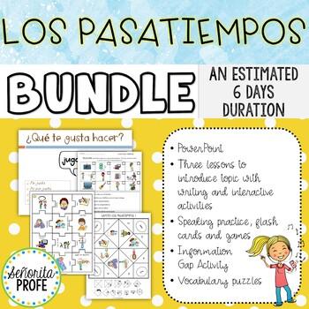 Spanish Pastime Activities Bundle
