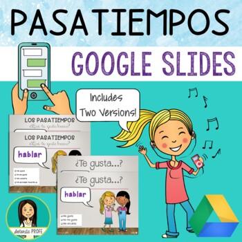 Spanish Pastime Activities PowerPoint