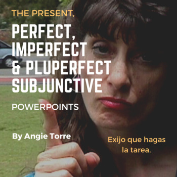 Spanish Present, Perfect, Imperfect and Pluperfect Subjunc
