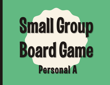 Spanish Personal A Board Game