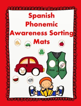 Spanish ABC Centers:  Phonemic Awareness Learning Mats