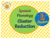 Spanish Phonology: L- Cluster Reduction - Pairs, Games, Cariboo