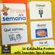 Spanish Phrase of the Week Posters - Frase de la Semana - Set #1