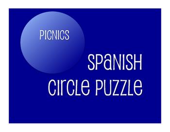 Spanish Picnic Circle Puzzle