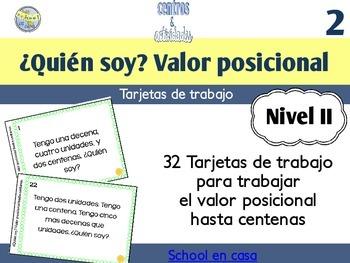 Spanish Place Value Task Cards to Hundreds | Valor posicio