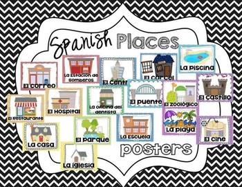 Spanish Places Posters
