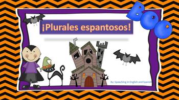 Spanish Plurals Exercise for Halloween! {Freebie} / Plural