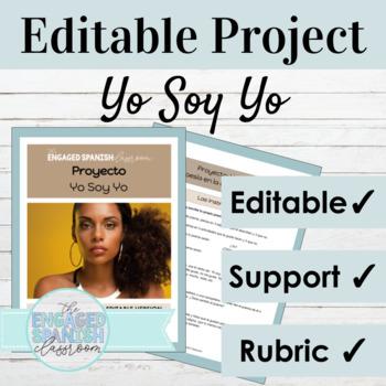 "Spanish Poetry Assignment ""Yo Soy Yo"": Writing w/ basic ad"