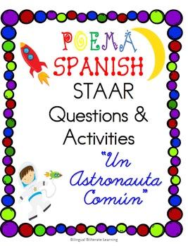 "Spanish Poetry ""Un Astronauta Común""-Complete NO PREP"