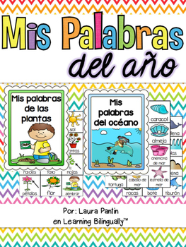 Spanish Portable Word Walls