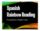 Spanish Possessive Adjective Stations