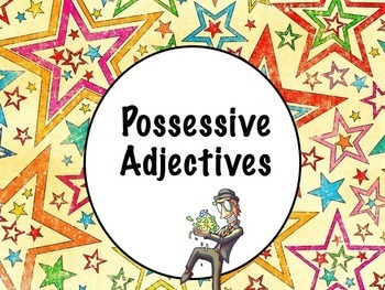 Spanish Possessive Adjectives Keynote Slideshow - For Mac,