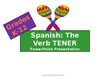 Spanish PowerPoint Presentation: The Verb TENER