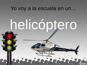 Spanish PowerPoint: Transportation
