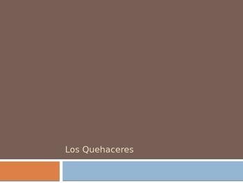 Spanish - Powerpoint - Chores