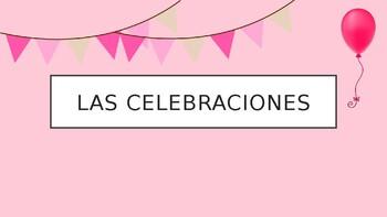 Spanish - Powerpoint - Party Fiesta