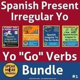 Spanish Present Irregular Yo Go BUNDLE. Presente de Verbos