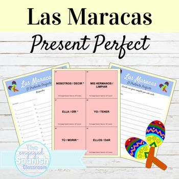 Spanish Present Perfect Indicative Maracas game: El Preter