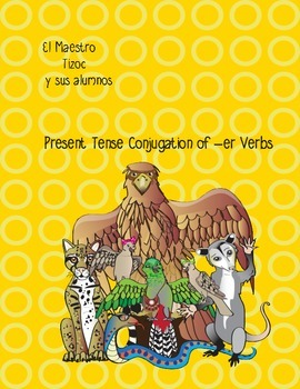 Spanish Present Tense Conjugation of Regular -er Verbs 1