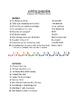Spanish Present Tense Regular AR Song Titles