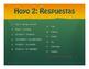 Spanish Preterite J Group Golf