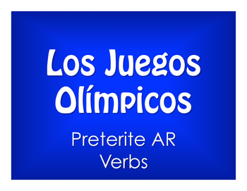 Spanish Preterite Regular AR Olympics